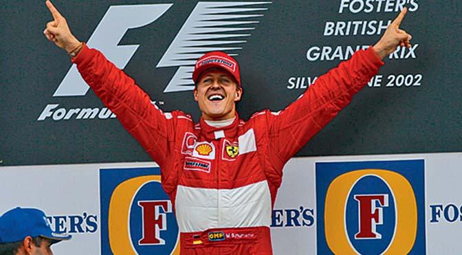 Michael Schumacher fuori dal coma