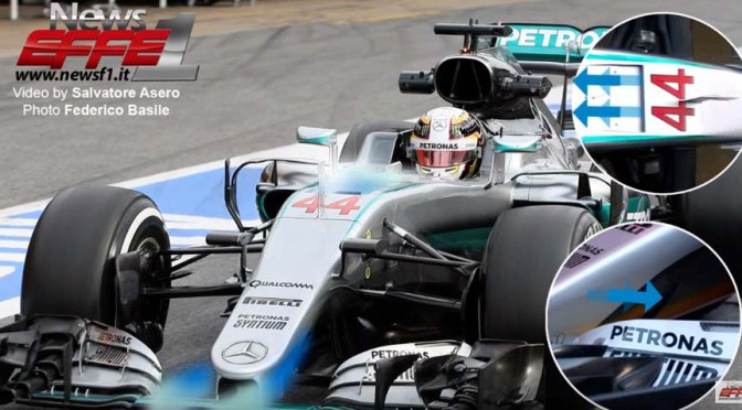 F1 Technical – Analysis Mercedes s-duct