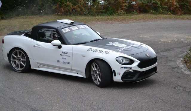 Auto – Abarth 124 Rally pronta per gareggiare