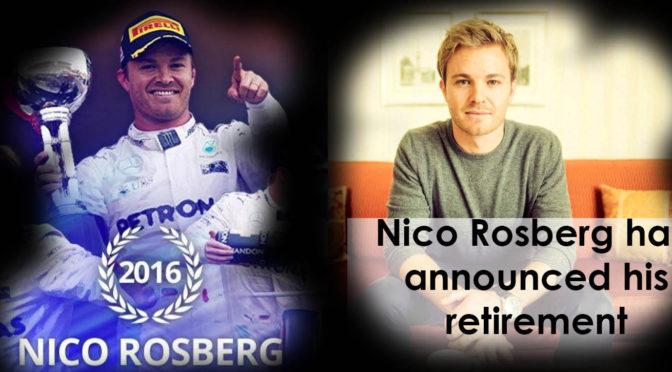 Lasciare da campione, l'addio di Nico Rosberg