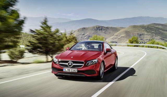 Auto – Nuova Mercedes Classe E Coupé: sportiva ed elegante