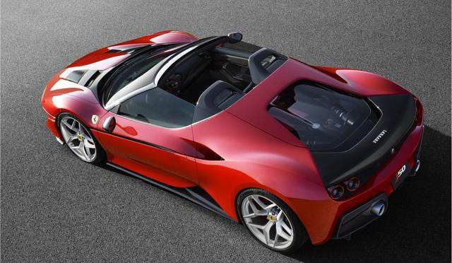 Auto super car – Ferrari J50 ECCOLA !