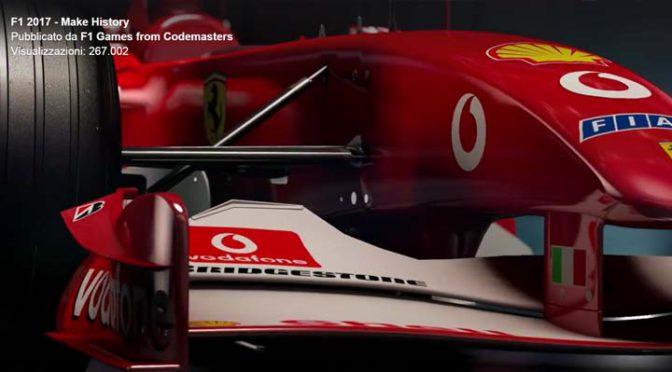 """NewsF1 Videogames: Codemasters """"fa la storia"""" con F1 2017"""