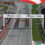 Partenza GP Austria 2018Bottas, Raikkonen, Hamilton
