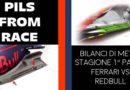 PILS FROM RACE: BILANCI DI META' STAGIONE, 1° PARTE: FERRARI VS REDBULL