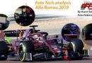 F1 Analisi Tecnica nuova Alfa Romeo F1 2019