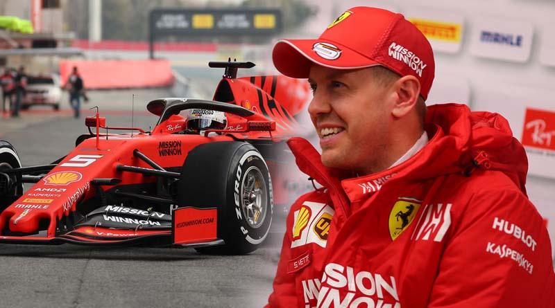 """F1  Vettel instancabile completa 169 giri :""""La SF90 mi dà buone sensazioni"""""""