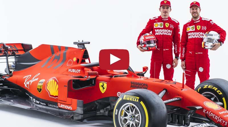 F1 Ferrari – Ecco le video interviste dopo il lancio della Ferrari SF90