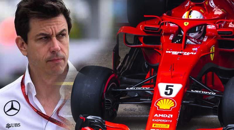 Redbull Wolff Ferrari