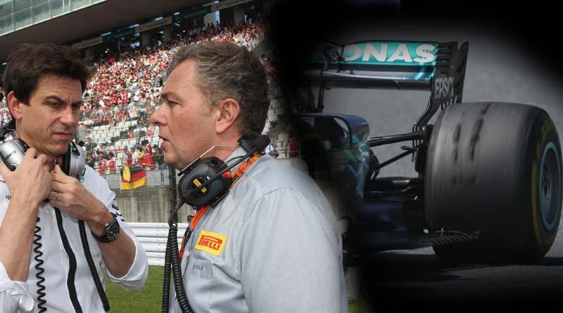 F1 Gomme Pirelli Mercedes favorita