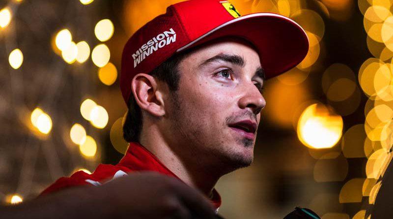 Leclerc Ferrari F1