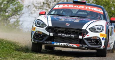 L'ABARTH 124 RALLY TORNA IN GARA IN SPAGNA