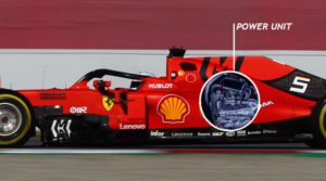 FIA Ferrari power unit