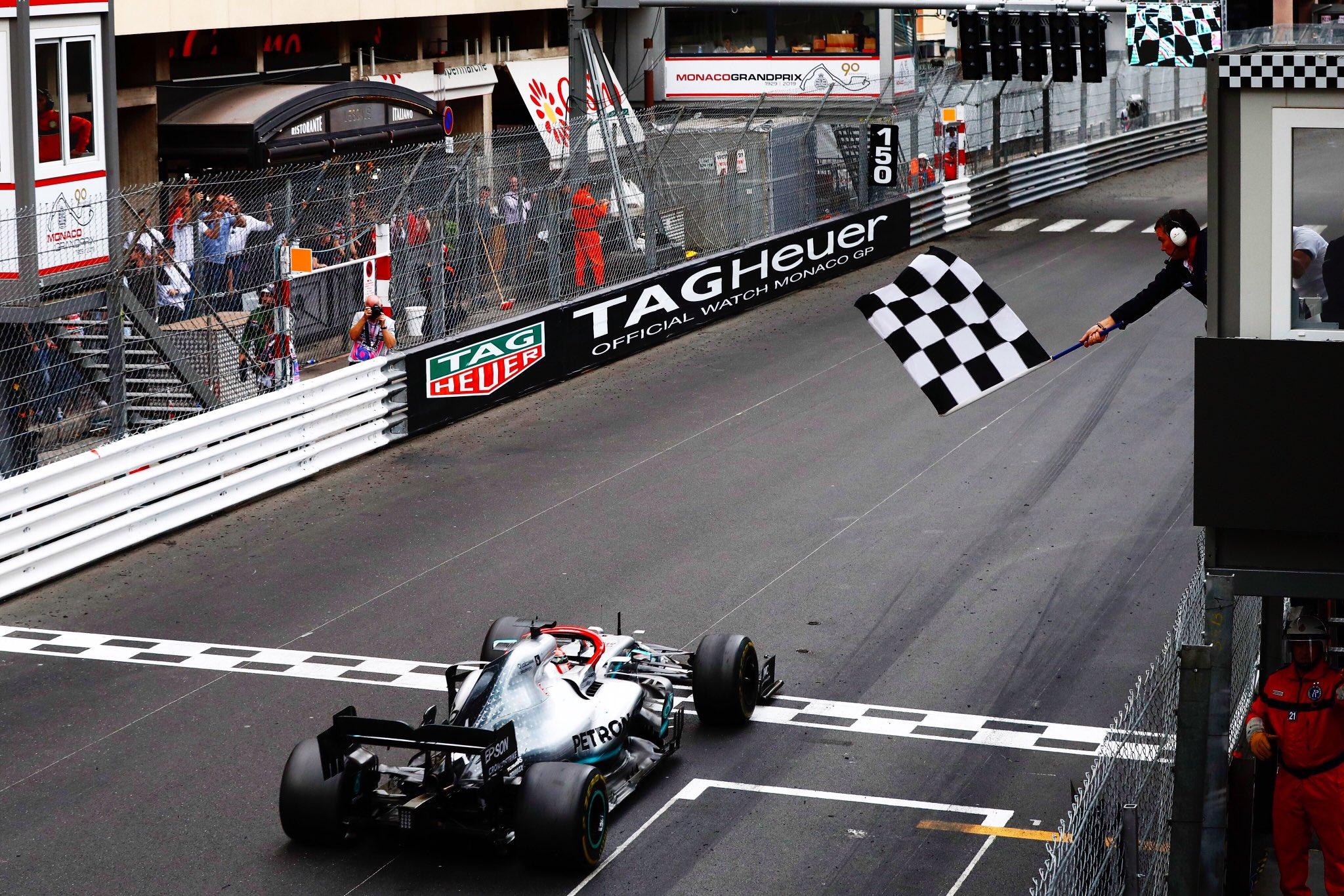 Formula 1 Hamilton vince Montecarlo