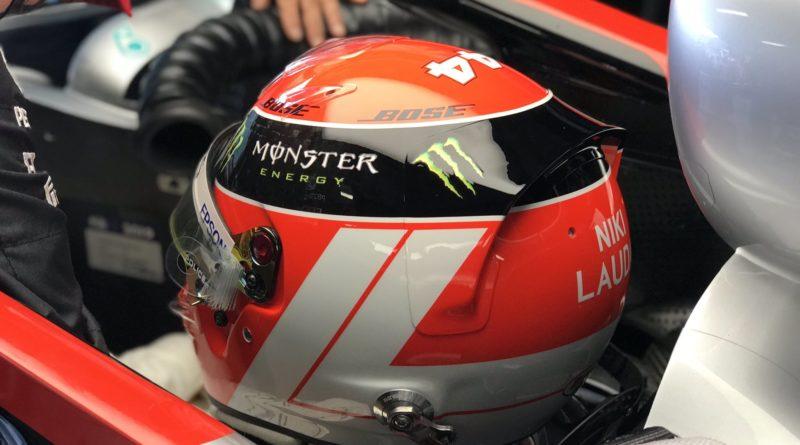 Hamilton casco Niki Lauda