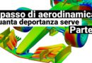 RIPASSO DI AERODINAMICA: Quanta deportanza serve. Pt1.