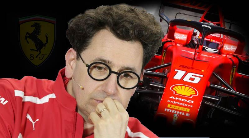 Binotto F1 Ferrari