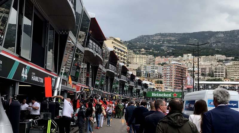 Formula 1 Monaco Meteo