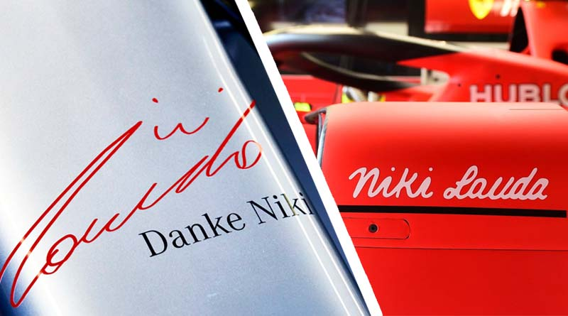 Formula 1 Niki lauda tributo