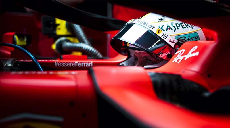 Vettel F1 Silverstone