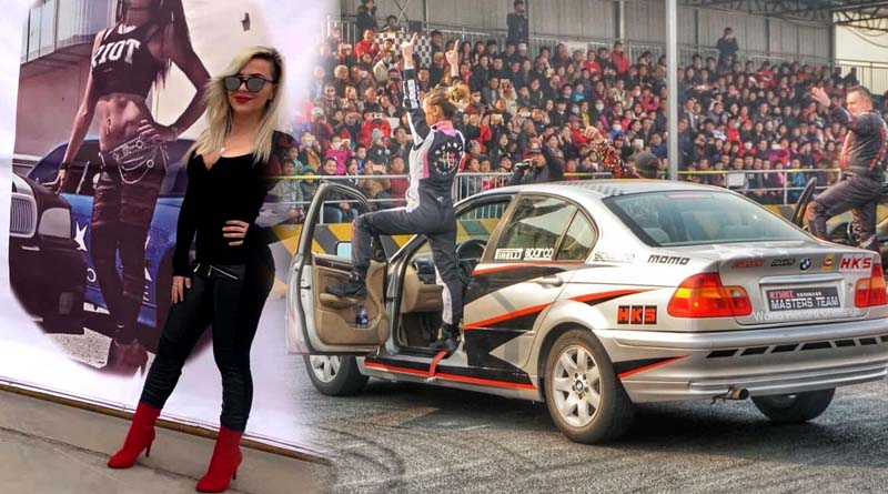 Donne e Motori Daisy dizzarrino stunt man girl