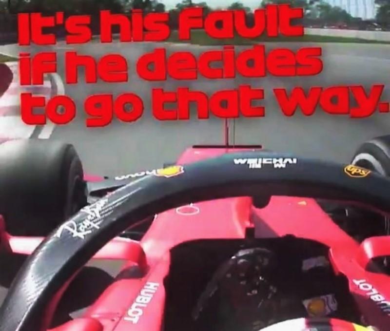 Team radio Vettel