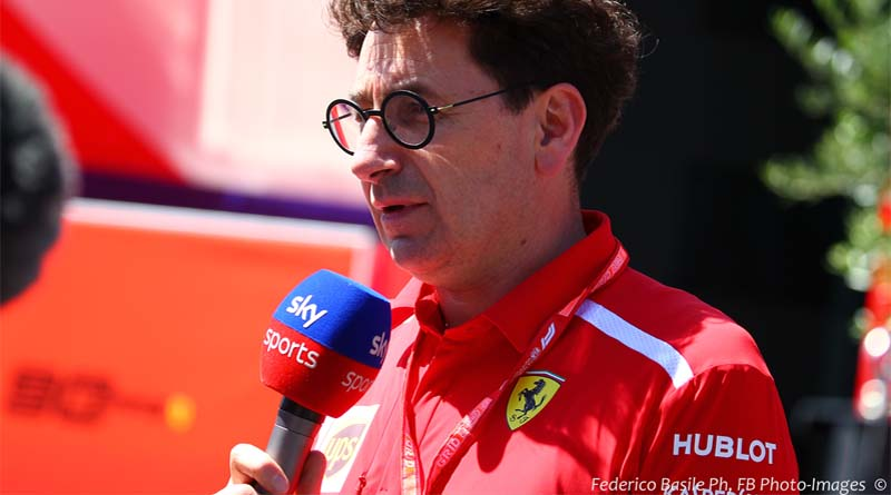 Formula 1 Ferrari Binotto