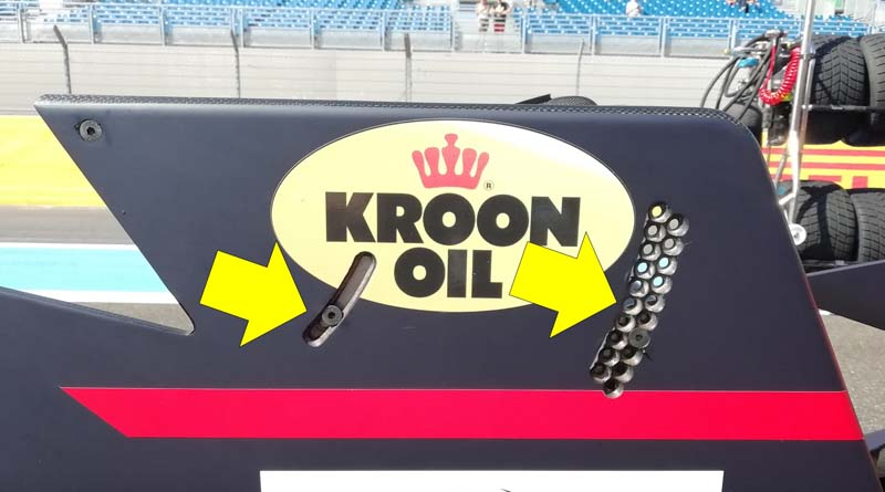 end plate formula 3 detail France GP 2019