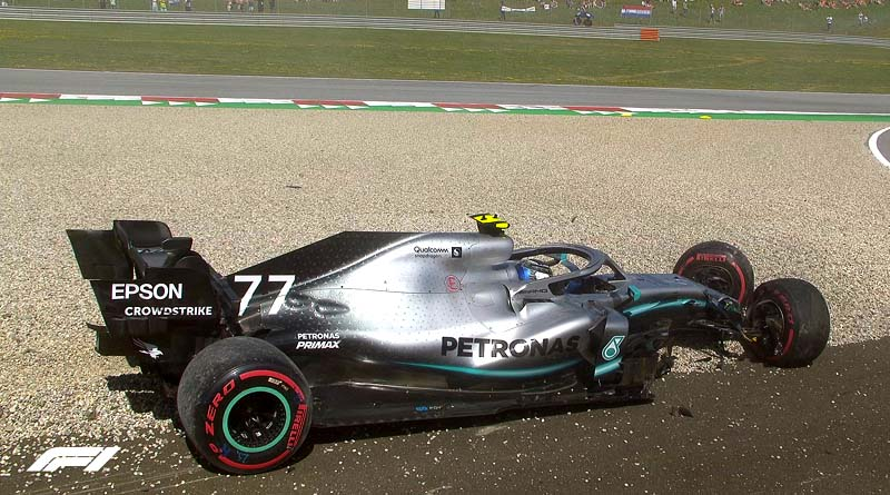 Incidente formula 1 Valteri bottas Austria