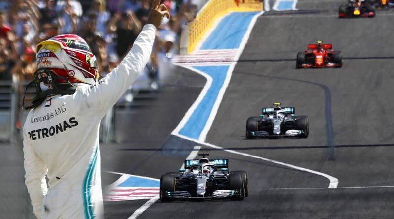 Lewis Hamilton Vittoria Francia GP
