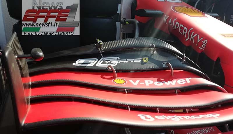 Ferrari F1 Nuova ala Francia 2019