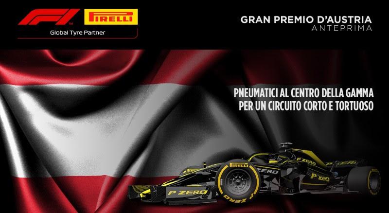 Formula 1 GP Austria Anteprima Pirelli