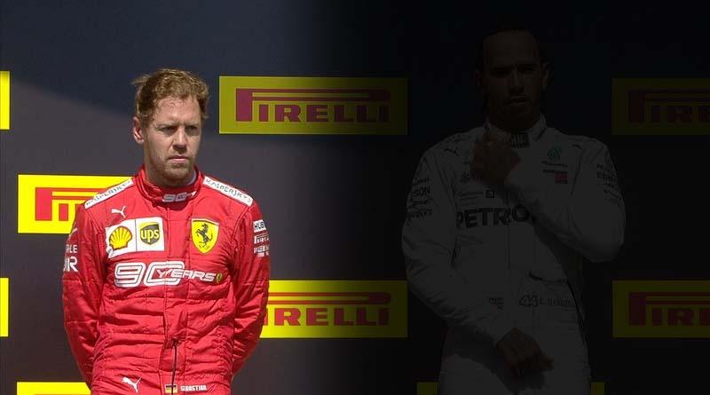 Podio Canada Vettel Hamilton