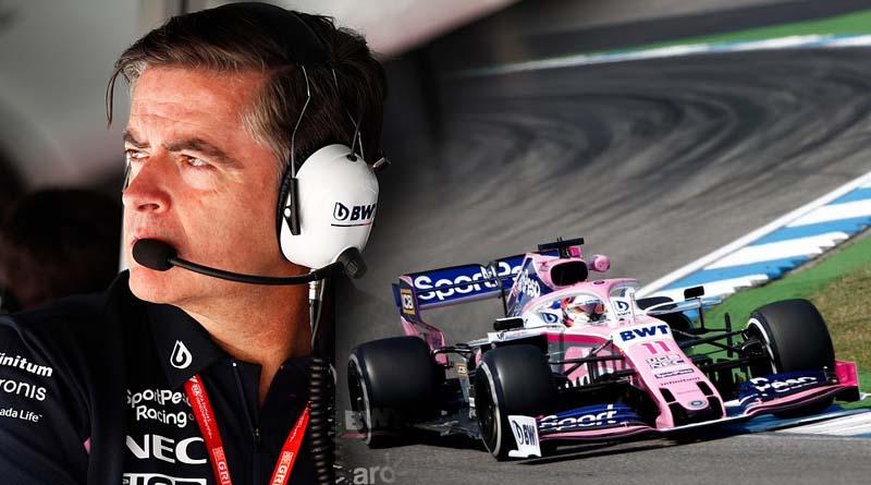 Andy Stevenson e la Racing Point