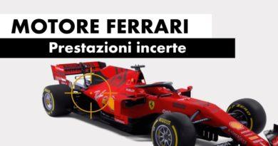 Tecnica Ferrari Formula 1 Motore