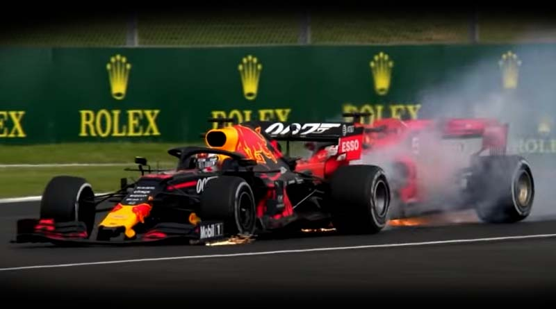 Vettel Verstappen crash