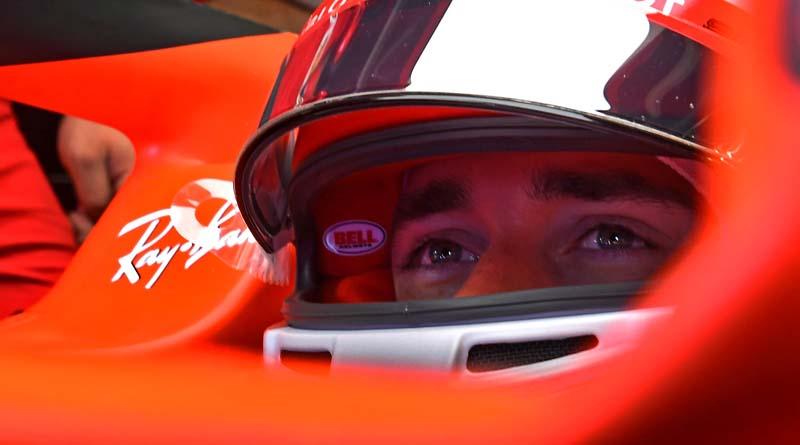 Formula 1 Leclerc Ferrari Silverstone