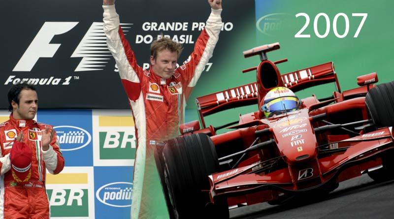 Ferrari F1 mondiale 2007