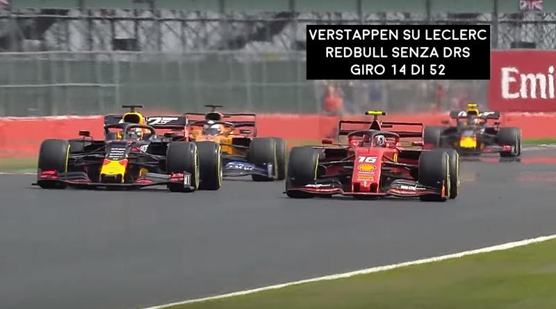 Comparativa Ferrari F1 vs Redbull senza DRS