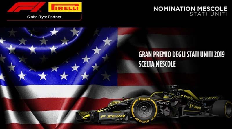 Formula 1 GP Stati uniti gomme pirelli