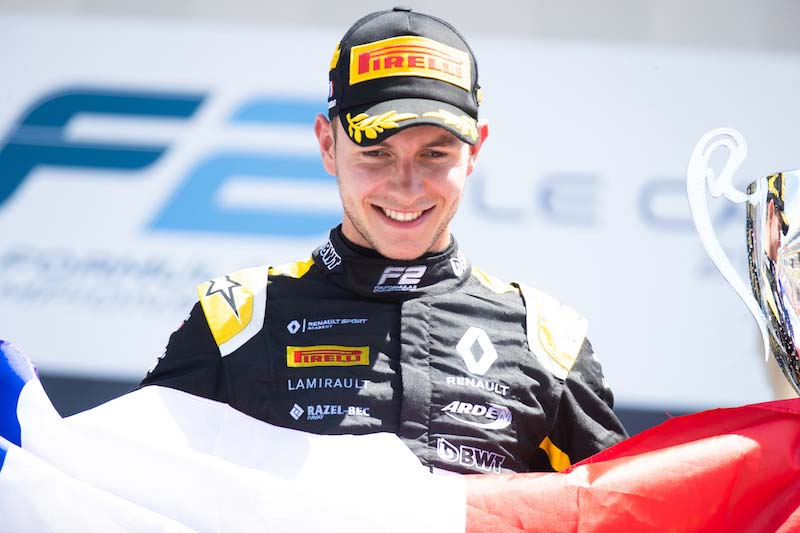 Formula 2 morto Anthoine Hubert,