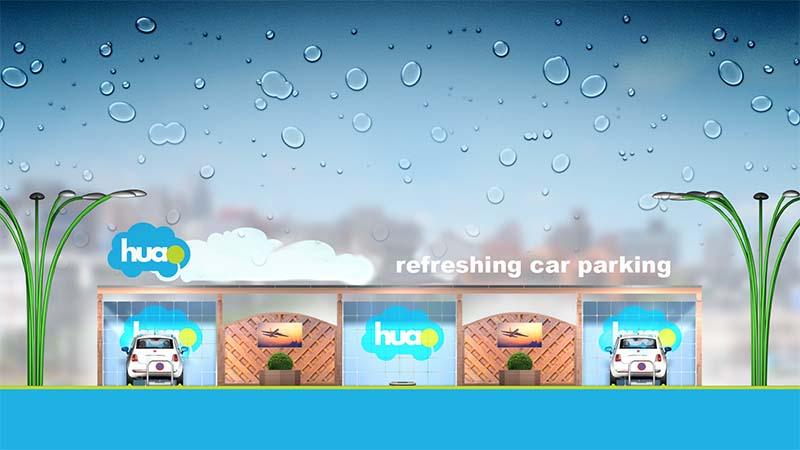 huao refreshing car parking