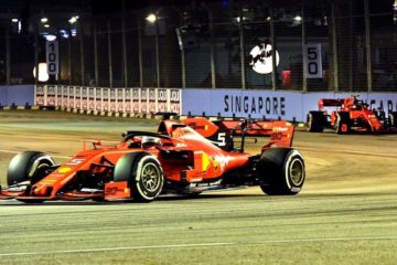 Doppietta Ferrari Singapore