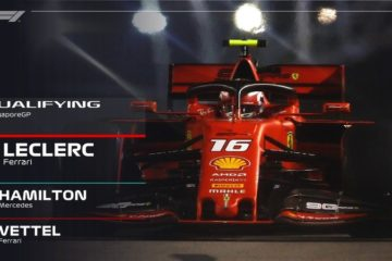 Pole Leclerc Singapore