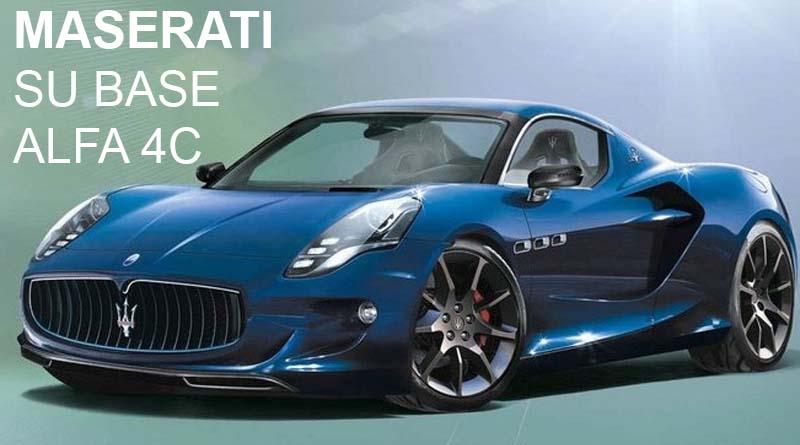 Maserati base alfa 4c