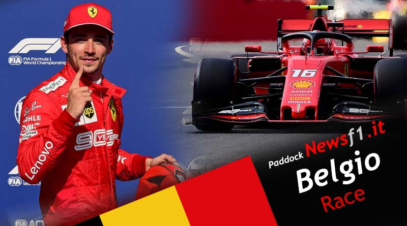 Video F1 GP Belgio