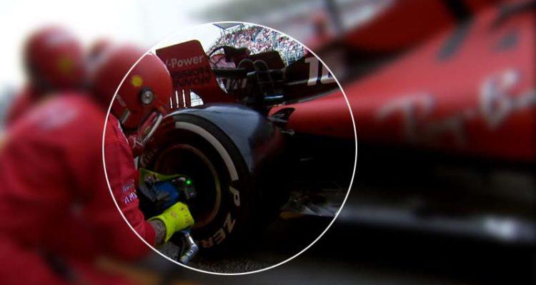 Formula 1 Ferrari Gomme