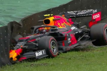 F1 Incidente Albon
