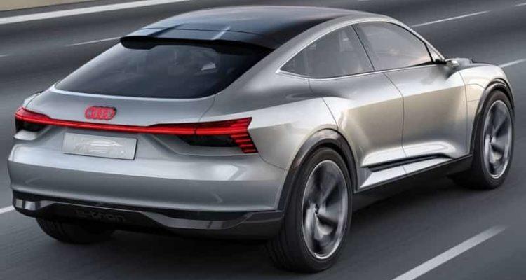 Audi e-tron elettrico