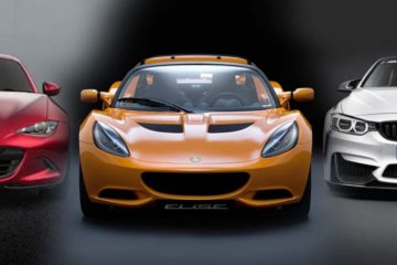 Lotus Elise BMW M4 Mazda MX5